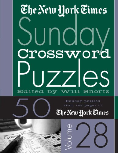 The New York Times Sunday Crossword Puzzles 9780312305154