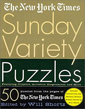 The New York Times Sunday Variety Puzzles 9780312300593