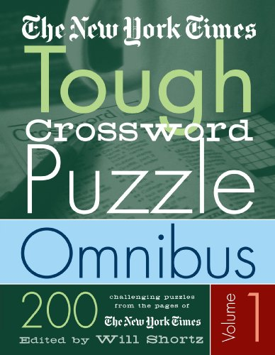 The New York Times Tough Crossword Puzzle Omnibus: 200 Challenging Puzzles from the New York Times 9780312324414
