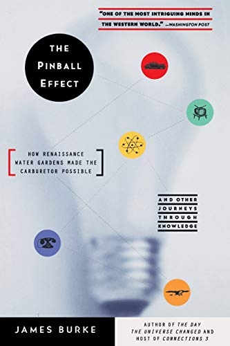 The Pinball Effect: How Renaissance Water Gardens Made Carburetor Possible - And Other Journeys 9780316116107