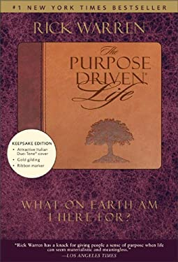 The Purpose Driven Life: What on Earth Am I Here For? 9780310601944