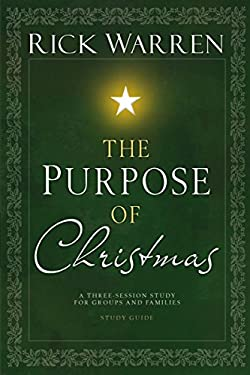 The Purpose of Christmas DVD Study Guide: A Three-Session, Video-Based Study for Groups and Families 9780310318552