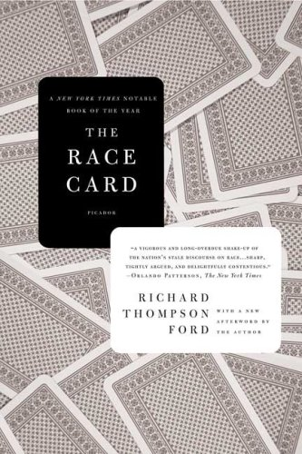 The Race Card: How Bluffing about Bias Makes Race Relations Worse 9780312428266