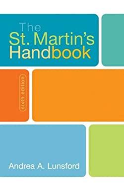 The St. Martin's Handbook 9780312443177