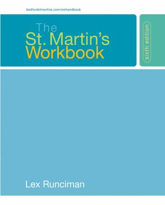 The St. Martin's Workbook 9780312431198