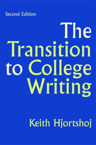 The Transition to College Writing 9780312440824