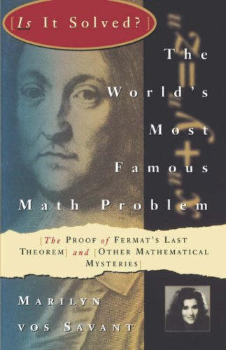 Is It Solved? the World's Famous Math Problem 9780312106577