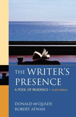 The Writer's Presence: A Pool of Readings 9780312486860