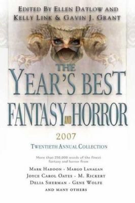 The Year's Best Fantasy and Horror: Twentieth Annual Collection 9780312369422