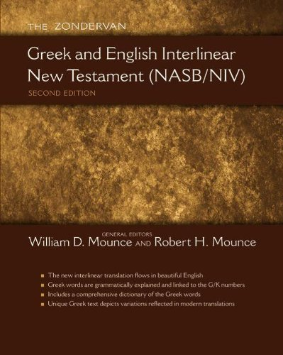 Greek and English Interlinear New Testament-PR-NASB/NIV 9780310492962
