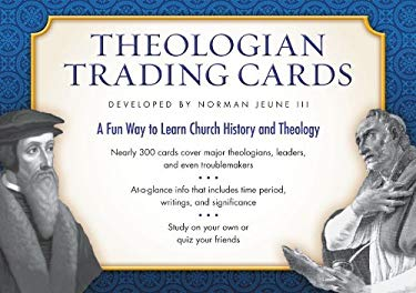 Theologian Trading Cards 9780310328582