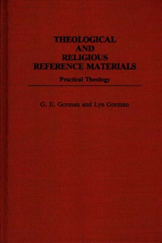 Theological and Religious Reference Materials: Practical Theology 9780313253973