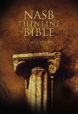 NASB Thinline Bible, Large Print: New American Standard Bible 9780310917960