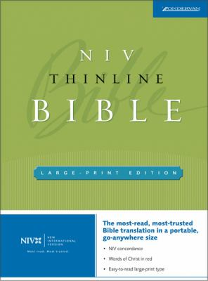 Thinline Bible-NIV-Large Print 9780310935773