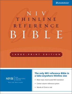 Thinline Reference Bible-NIV-Large Print 9780310935964