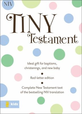 Tiny Testament-NIV 9780310922308