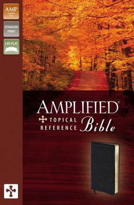 Amplified Topical Reference Bible-AM 9780310934752