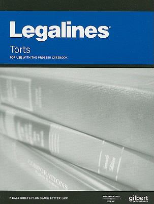 Torts: For Use with the Prosser Casebook 9780314172365