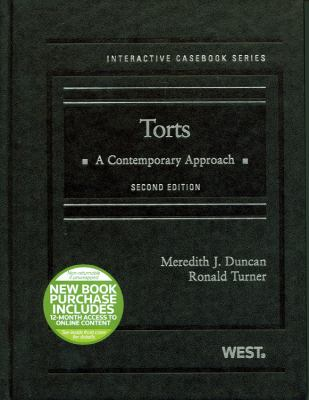 Torts with 12-Month Access to Online Content: A Contemporary Approach 9780314280237