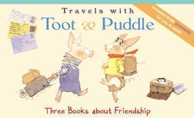 Travel with Toot and Puddle [With Postcards] 9780316145640
