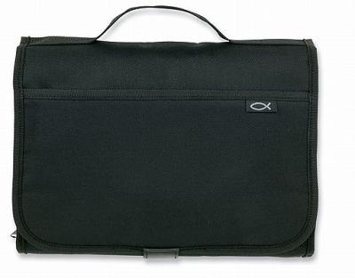 Tri-Fold Organizer Black Lg Value 9780310822400