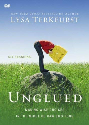 Unglued: A DVD Study: Making Wise Choices in the Midst of Raw Emotions 9780310892144