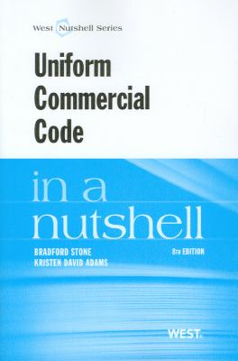 Uniform Commercial Code in a Nutshell 9780314277442