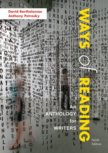 Ways of Reading: An Anthology for Writers 9780312570910
