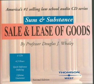 Sale & Lease of Goods