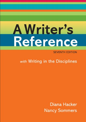 A Writer's Reference with Writing in the Disciplines 9780312601447