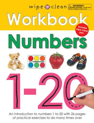 Numbers 1-20 [With Wipe Clean Pen] 9780312508692