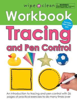 Tracing and Pen Control [With Wipe Clean Pen] 9780312508708