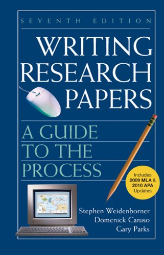 Writing Research Papers: A Guide to the Process 9780312675868
