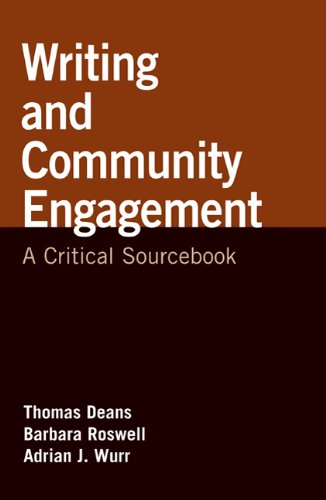 Writing and Community Engagement: A Critical Sourcebook 9780312562236