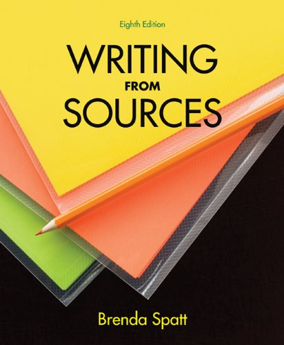 Writing from Sources 9780312602901