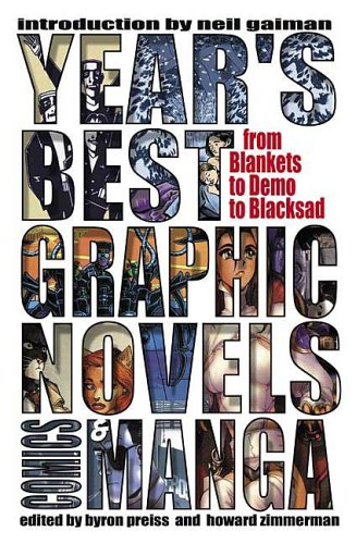 Year's Best Graphic Novels, Comics & Manga 9780312343255