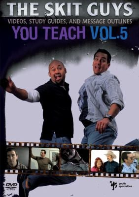 You Teach, Volume 5: Videos, Study Guides, and Message Outlines 9780310280897