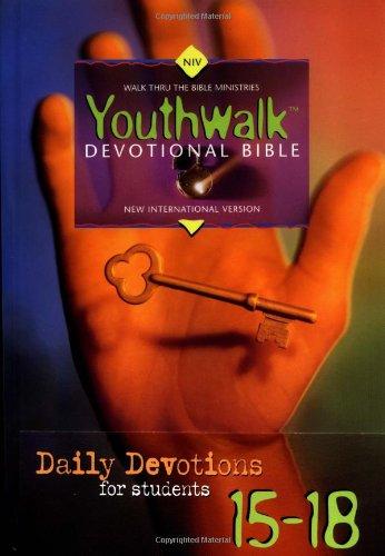 Youthwalk Devotional Bible-NIV 9780310900870