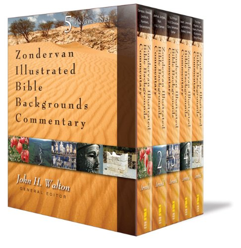Zondervan Illustrated Bible Backgrounds Commentary: Old Testament Set 9780310255727