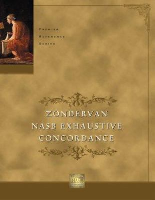 Zondervan NASB Exhaustive Concordance 9780310236252
