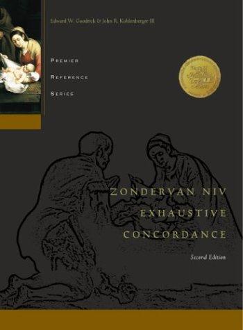 Zondervan NIV Exhaustive Concordance 9780310229971