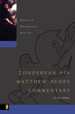 Zondervan NIV Matthew Henry Commentary 9780310260400