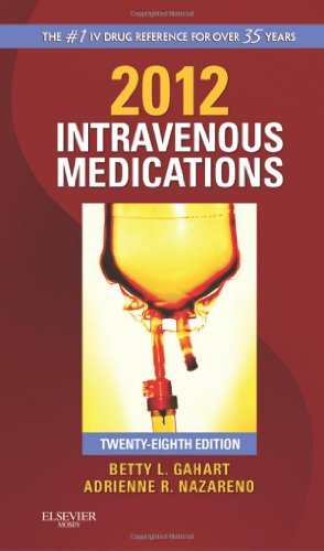 Intravenous Medications: A Handbook for Nurses and Health Professionals