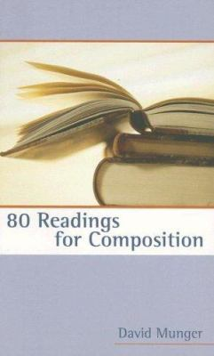 80 Readings for Composition 9780321438782
