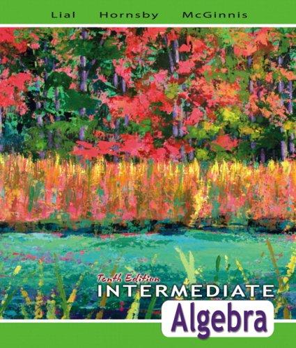 Intermediate Algebra 9780321443625