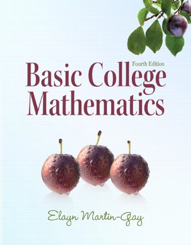 Basic College Mathematics 9780321649409