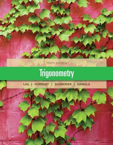 Trigonometry 9780321671776