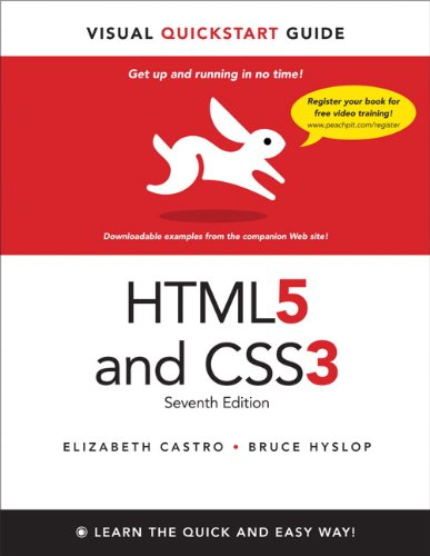 HTML5 and CSS3 9780321719614