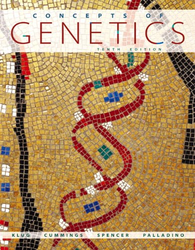 Concepts of Genetics 9780321724120