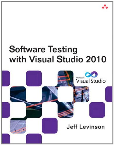 Software Testing with Visual Studio 2010 9780321734488